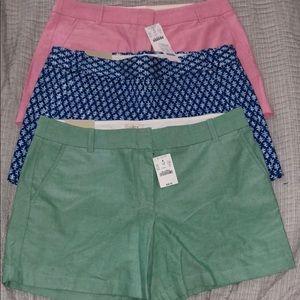 J Crew Summer Shorts